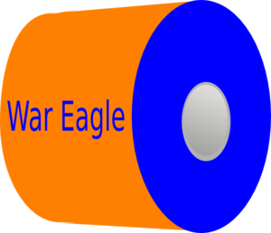 War Eagle Toilet Paper Clip Art