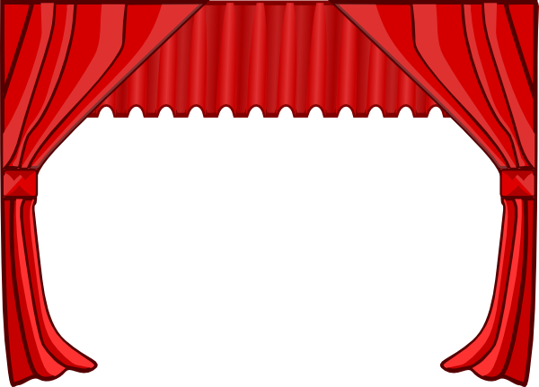 theatre curtains clip art at clker com vector clip art online rh clker com theatre stage curtains clipart stage curtains clipart
