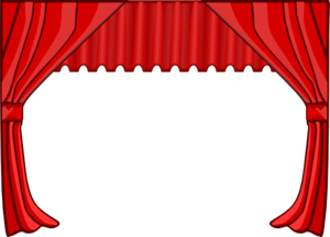 theatre curtains clip art at clker com vector clip art online rh clker com theatre clip art free theater clip art and borders