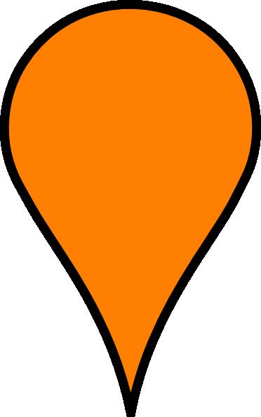 orange pin clip art at clker com