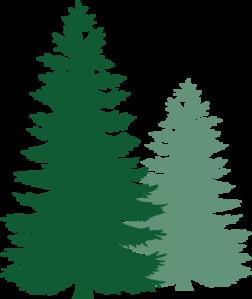 pine trees clip art at clker com vector clip art online royalty rh clker com clip art pine tree divider clip art pine trees free