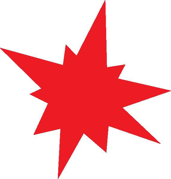 Go Back > Gallery For > Red Starburst Clip Art
