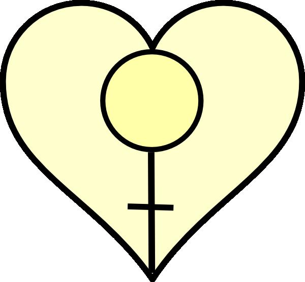 Feminist Heart Clip Art at Clker.com - vector clip art online, royalty ...