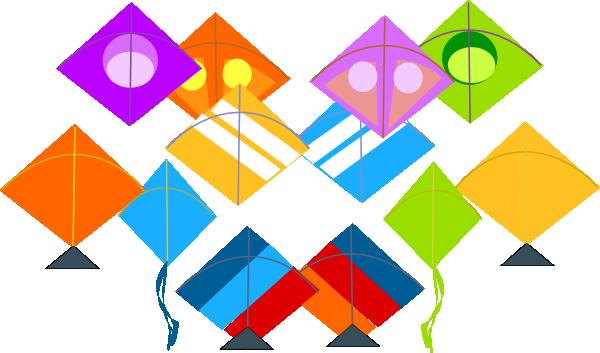 Pattern Kites Clip Art At Clker Vector Clip Art Online Enchanting Kite Pattern