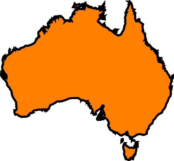 australia clip art at clker com vector clip art online australian clip art free australia clipart black and white