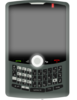 Blackberry In Use Clip Art