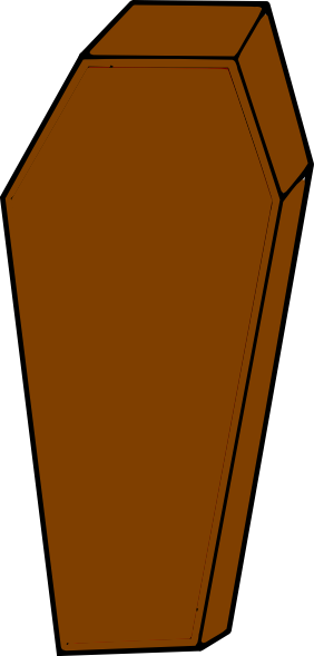 coffin clip art at clker com vector clip art online royalty free rh clker com vintage coffin clipart egyptian coffin clipart