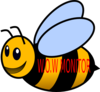 Busy Bee 1 Clip Art
