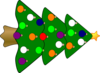 Christmas Tree2 Clip Art