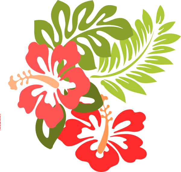 Hibiscus party invite clip art at clker vector clip art online download this image as stopboris Gallery
