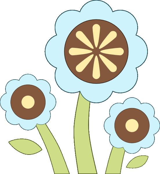 blue flowers clip art. Blue Flower clip art