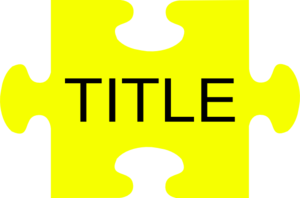 puzzle piece title clip art at clker com vector clip art online