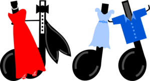 Dancing Notes Clip Art