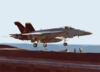 An F/a-18e Assigned To Strike Fighter Squadron One One Five (vfa-115) Clip Art