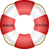 Jesus Christ Life Saver Clip Art