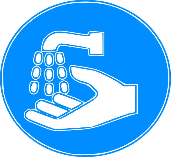 Hand Wash Sign Clip Art at Clker.com - vector clip art ...