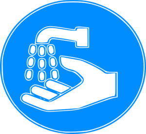 Hand Wash Sign Clip Art