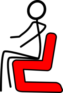 Chair Red Clip Art
