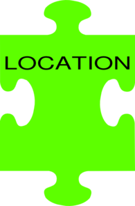 Puzzle Piece Location Clip Art