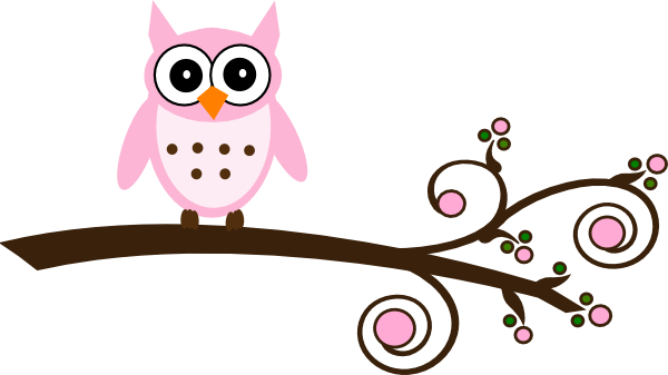Gallery For > Girly Owl Clipart