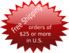 Free Shipping $25 Orders Clip Art