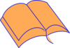 Orange Bible Clip Art