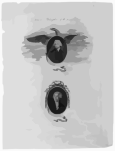 Chemical Philosophers Of The Present Day Dr. Priestley : Lavoisier / Opie And David Pinxt. ; Caldwall Sculpt. Clip Art