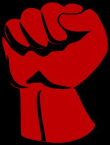 Raised Fist Clip Art at Clker.com - vector clip art online ...