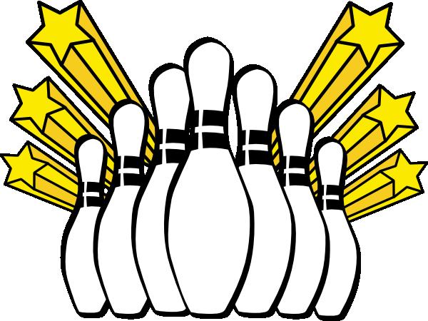 Bowling Pins Clip Art at Clker.com - vector clip art ...