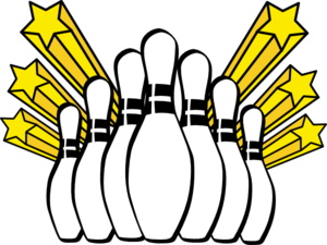 bowling pins clip art at clker com vector clip art online royalty rh clker com free bowling clip art printable free bowling clipart images