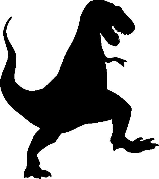 Rex Stencil T rex Clip Art Vector