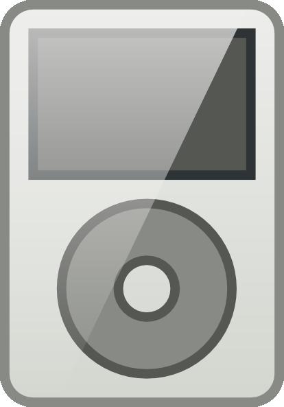ipod icon clip art at clker com vector clip art online royalty rh clker com ipod clipart ipod touch clipart
