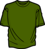 Green 2 T-shirt Clip Art