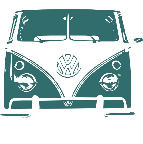 vw camper van clip art  clkercom vector clip art  royalty  public domain