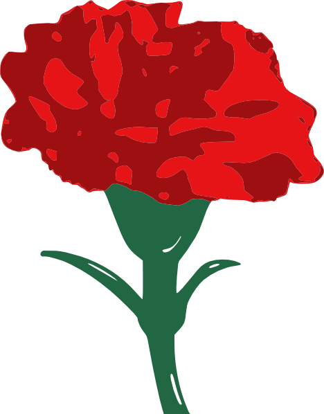 Clip Art Carnation Clip Art red carnation clip art at clker com vector online download this image as