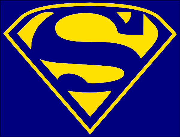 Wildcats Superman Logo Clip Art At Clker Vector Clip Art