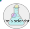 I M A Scientist Clip Art