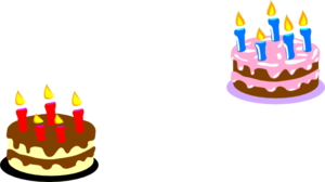Licia Birthday Cake Clip Art