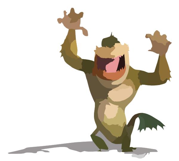 Monsters Vs Aliens Clip Art at Clker.com - vector clip art ...