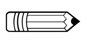 Pencil Outline Clip Art