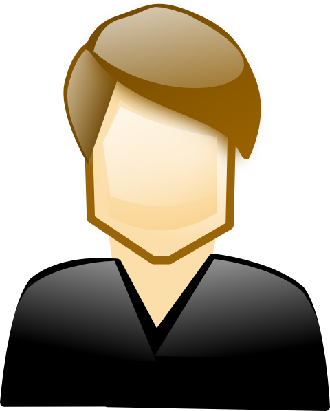 Single Man Clip Art at Clker.com - vector clip art online ...