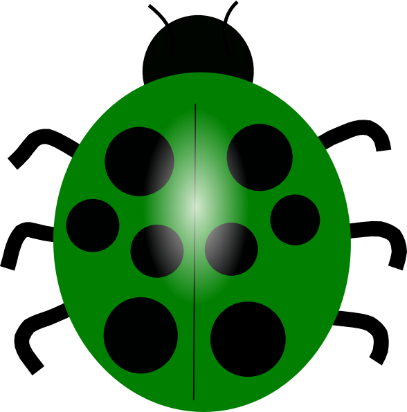 Pink And Green Ladybug Clipart Pink And Green Ladybug Clipart