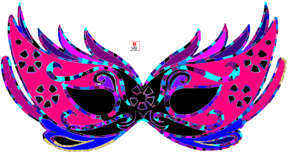 Mardi Gras Masquerade Ball Clip Art at Clker.com - vector clip art ...