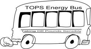 Tops Energy Bus Clip Art
