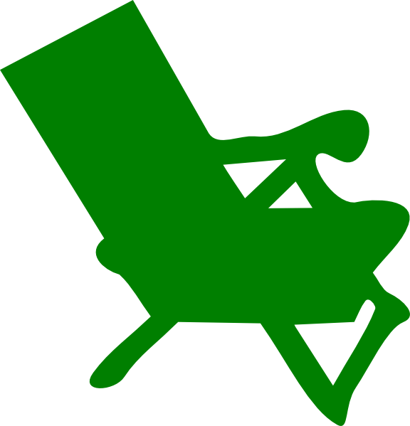 green chair clipart-#1