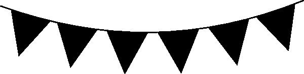 Black Bunting Clip Art at Clker.com - vector clip art ...