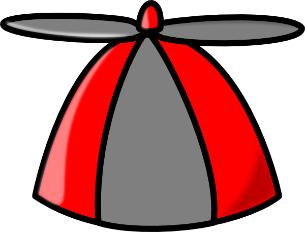 Propeller Clip Art : Propeller hat clip art at clker vector