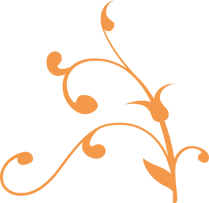 Orange Vine 3 Clip Art