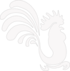 White Rooster Clip Art