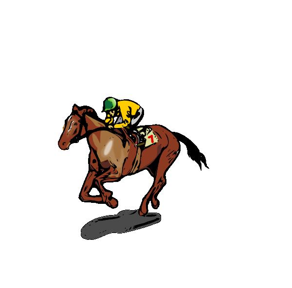 Horse Jockey Clip Art ...